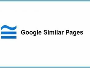 Google similar Pages busca webs similares a la que estás buscando
