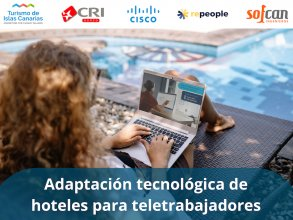 Adaptación tecnológica de hoteles para teletrabajadores