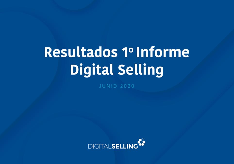 Acceso a los resultados del 1º Informe Digital Selling