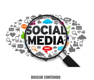 Búsqueda de contenido relevante para publicar