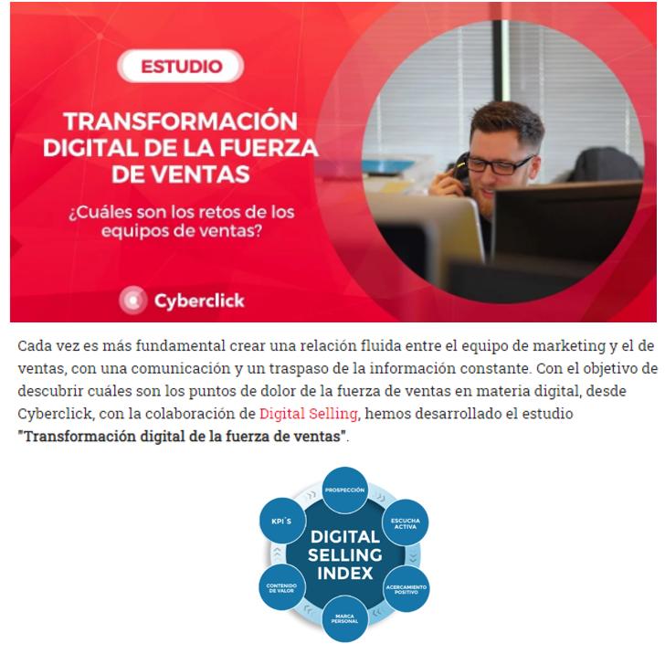 Estudio sobre la Transformación digital en ventas 2020