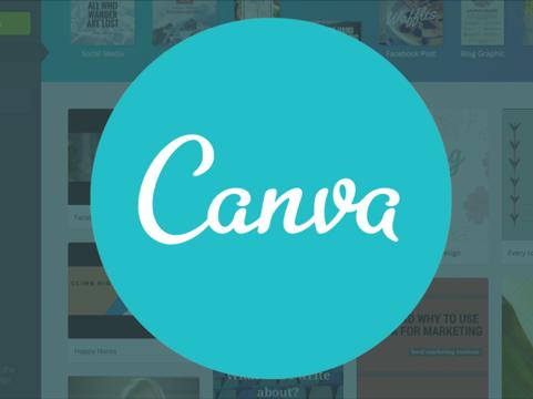 Canva permite crear contenido visual