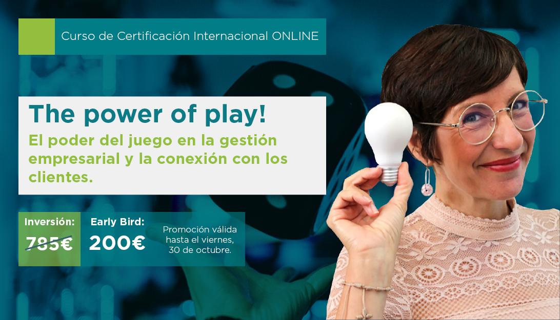 The Power of Play! El poder del juego en la gestión empresarial y la conexión con los clientes