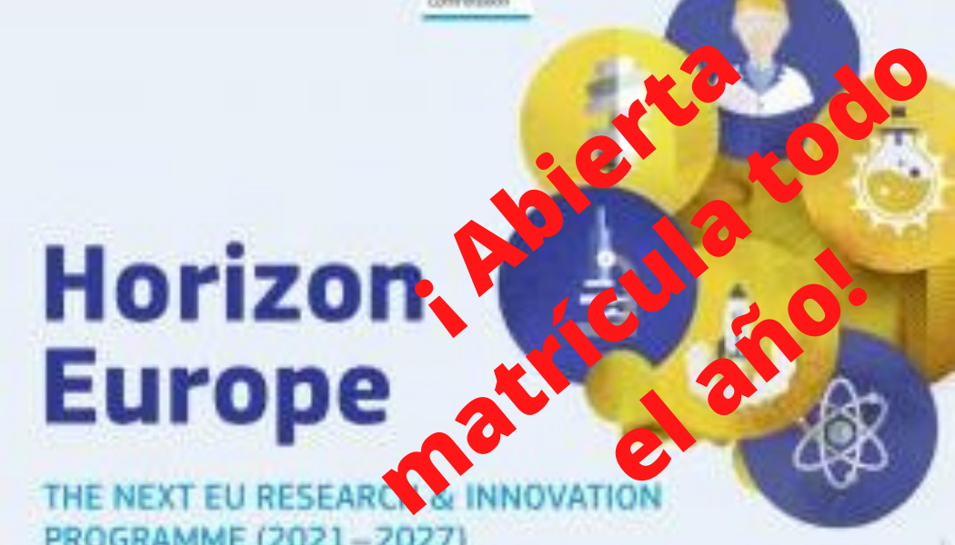 Introducción a Horizon Europe: Programa Marco europeo de I+D+i. CURSO EN VIDEO