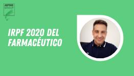 IRPF 2020 DEL FARMACÉUTICO