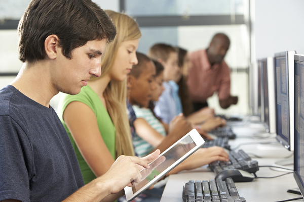 Managing a digital class in Secondary